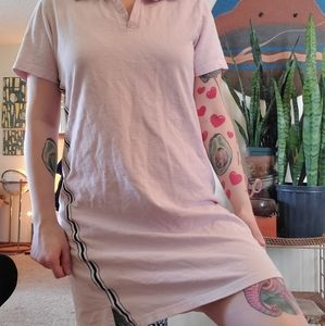 Vintage Baby Pink Sporty Dress